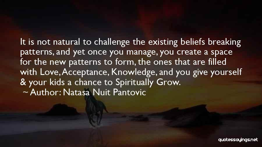 Give New Love A Chance Quotes By Natasa Nuit Pantovic