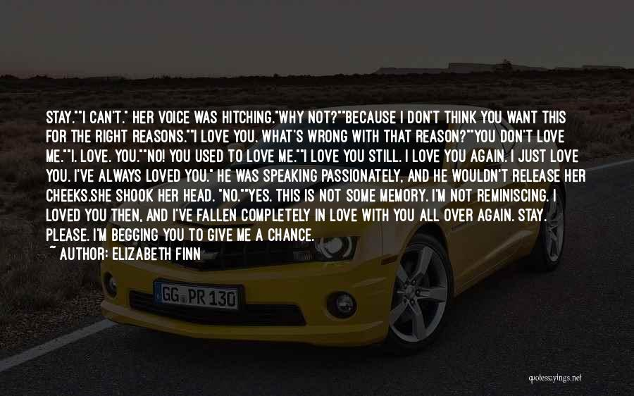 Give Our Love A Chance Quotes By Elizabeth Finn