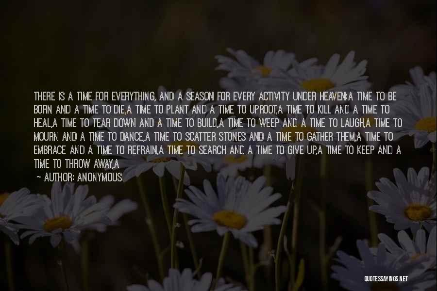 Give Yourself Time To Heal Quotes By Anonymous