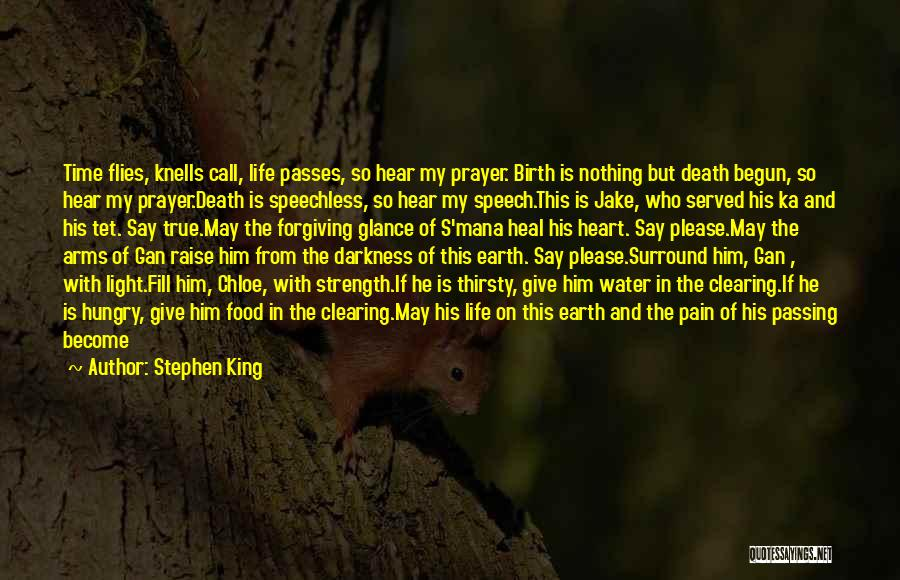 Give Yourself Time To Heal Quotes By Stephen King