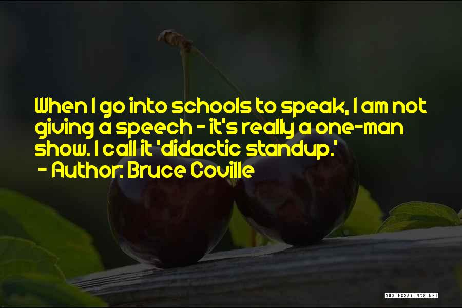 Giving A Speech Quotes By Bruce Coville