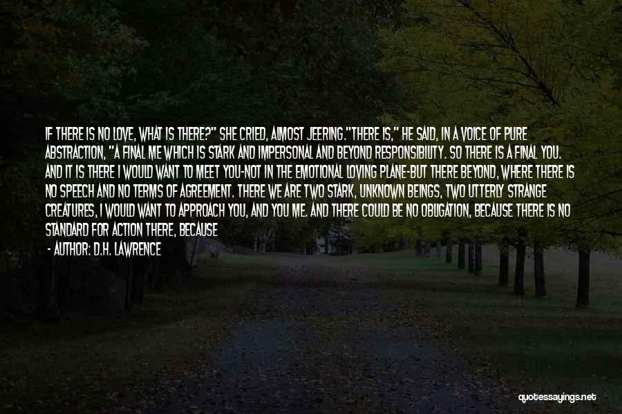Giving A Speech Quotes By D.H. Lawrence