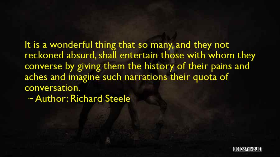 Giving A Speech Quotes By Richard Steele