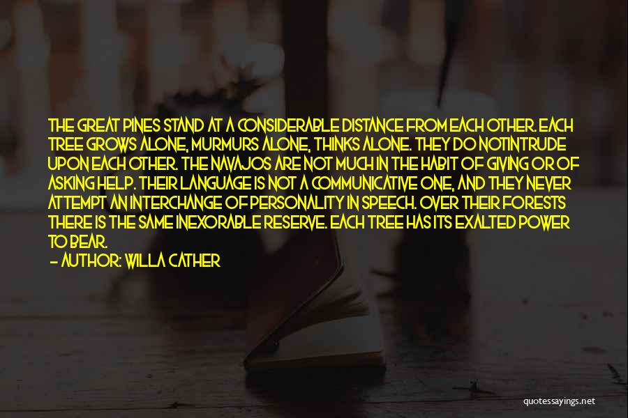 Giving A Speech Quotes By Willa Cather
