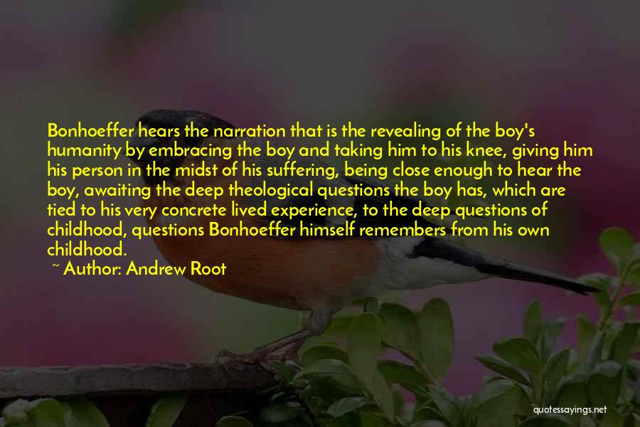 Giving And Taking Quotes By Andrew Root