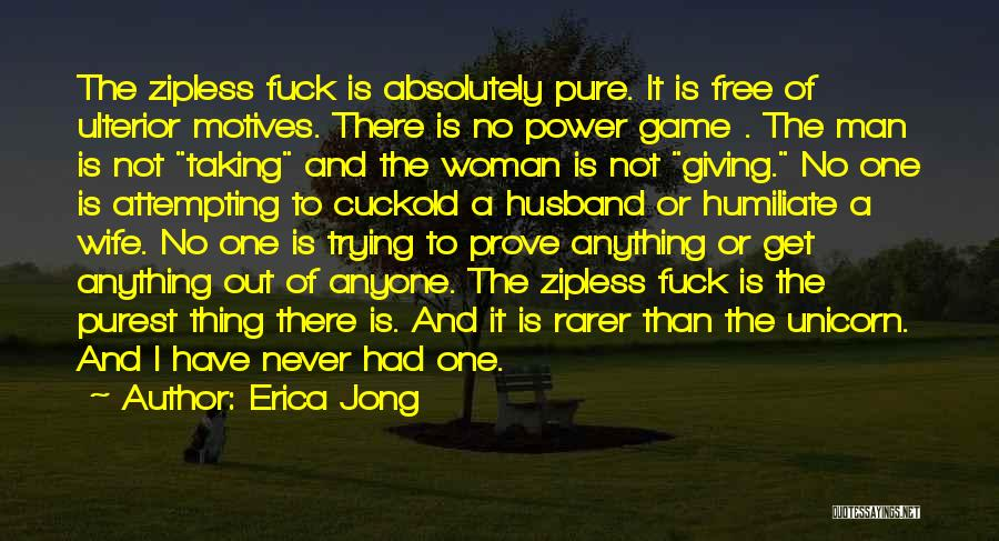 Giving And Taking Quotes By Erica Jong