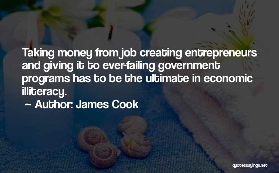 Giving And Taking Quotes By James Cook