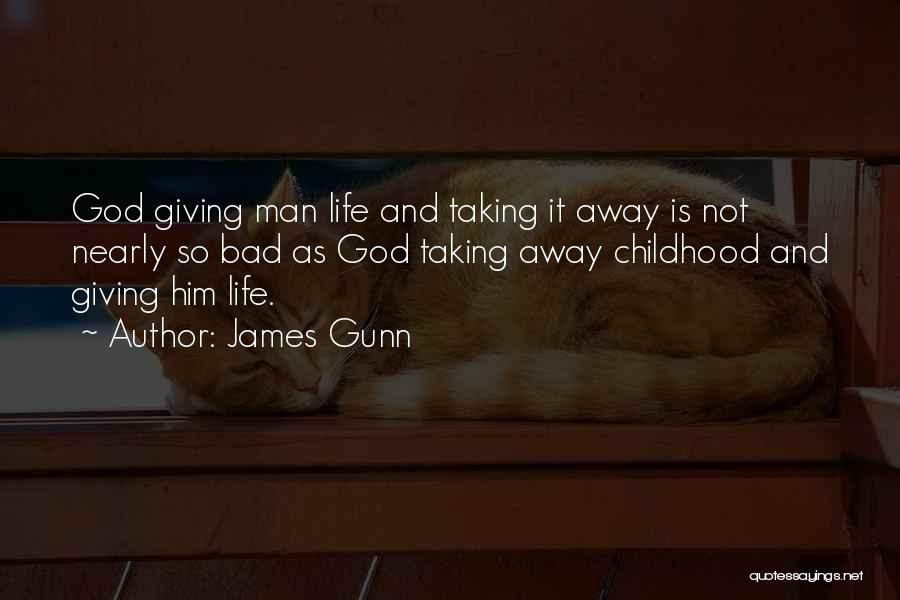 Giving And Taking Quotes By James Gunn