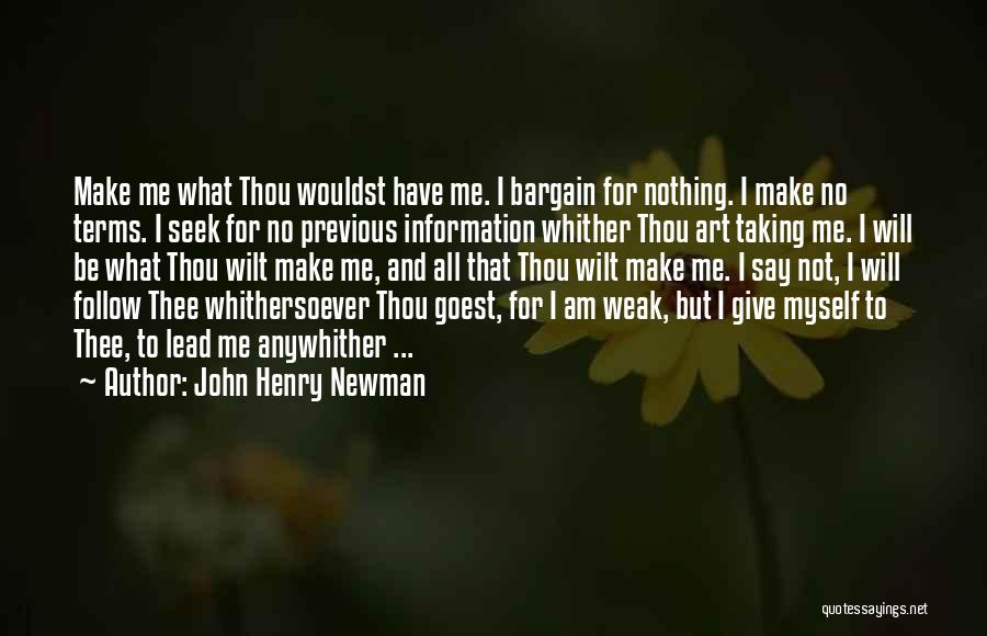 Giving And Taking Quotes By John Henry Newman