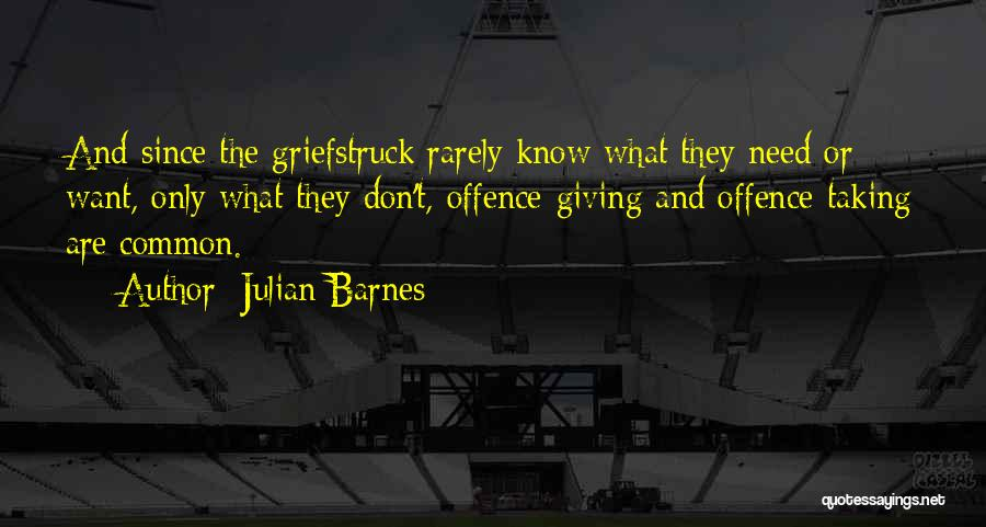 Giving And Taking Quotes By Julian Barnes