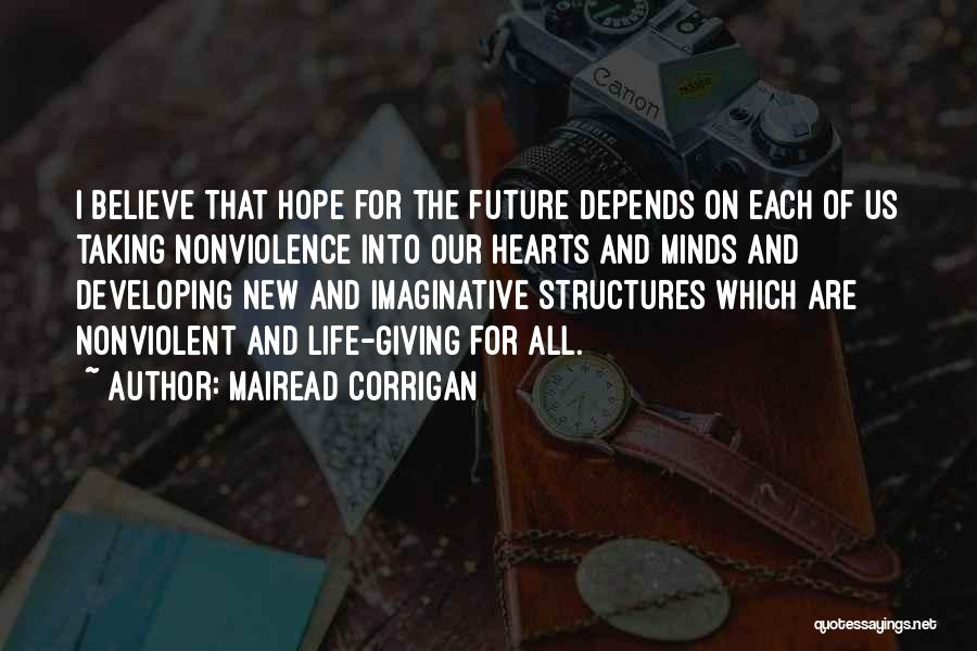 Giving And Taking Quotes By Mairead Corrigan