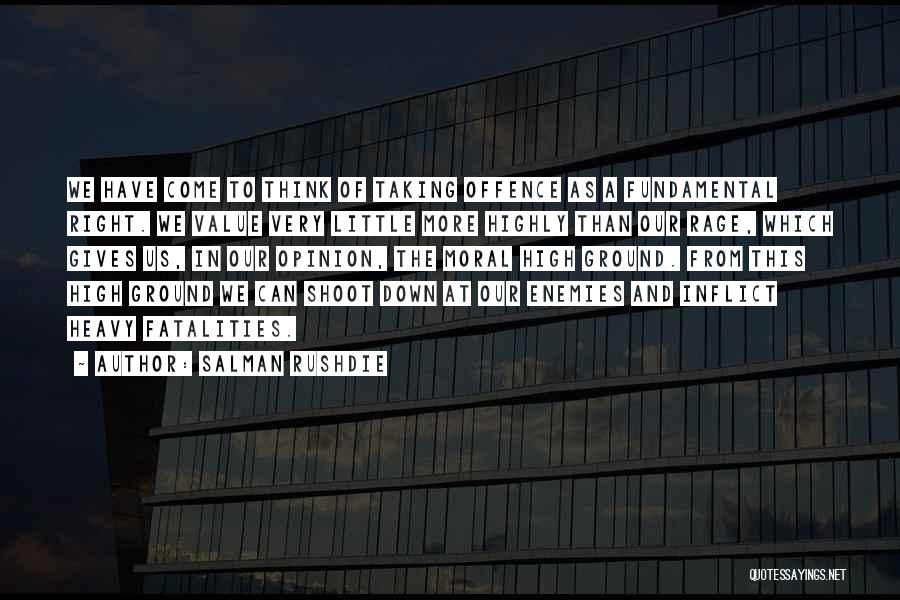 Giving And Taking Quotes By Salman Rushdie