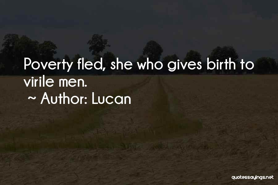 Giving Birth Quotes By Lucan
