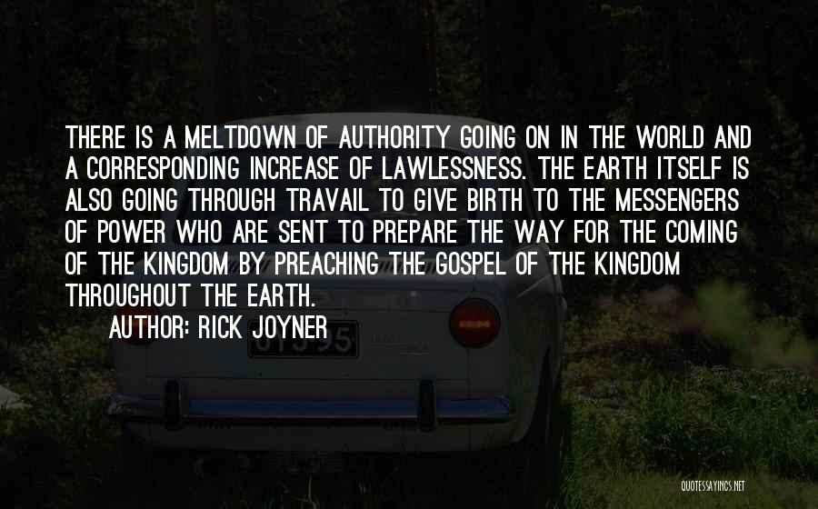 Giving Birth Quotes By Rick Joyner
