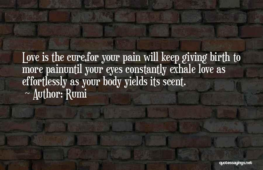 Giving Birth Quotes By Rumi