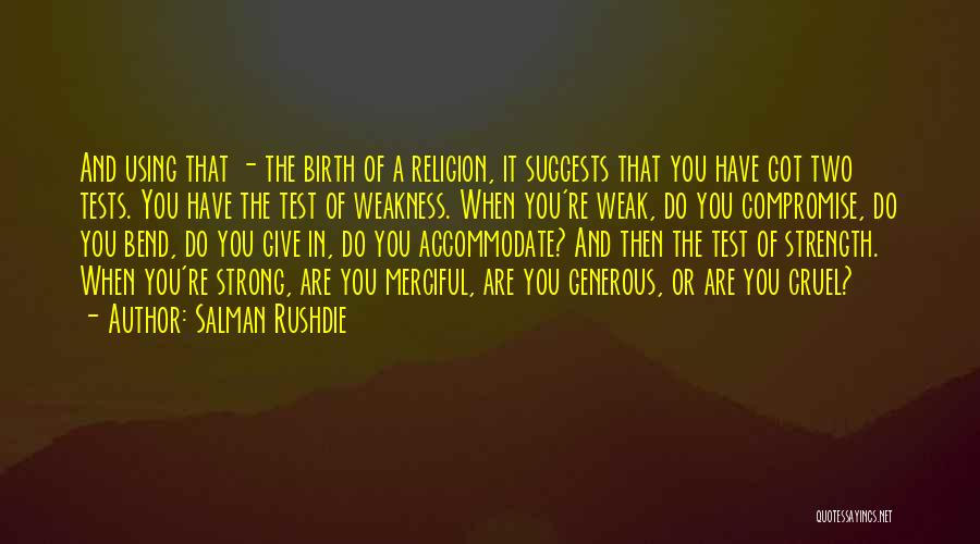 Giving Birth Quotes By Salman Rushdie
