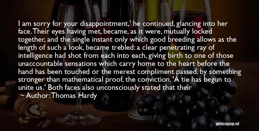 Giving Birth Quotes By Thomas Hardy