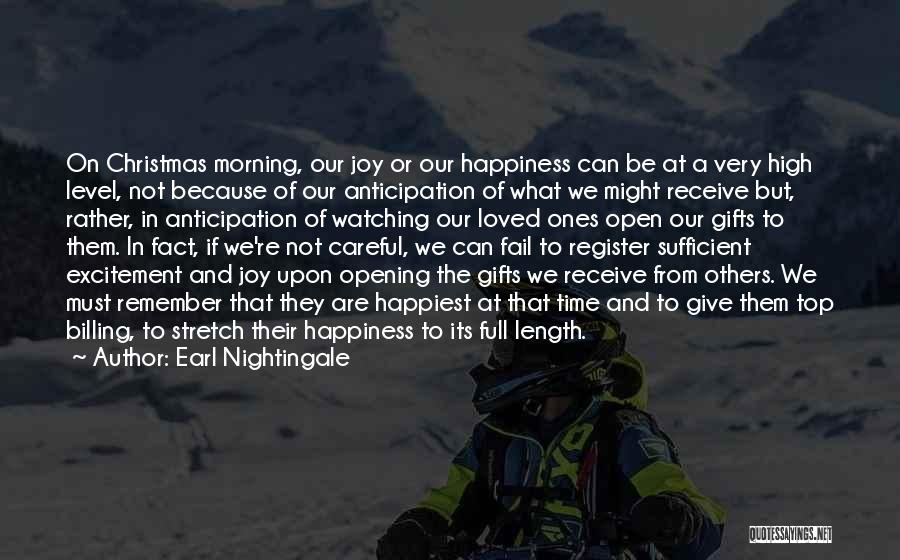 Giving Gifts Quotes By Earl Nightingale