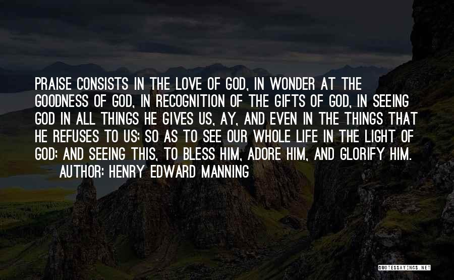 Giving Gifts Quotes By Henry Edward Manning
