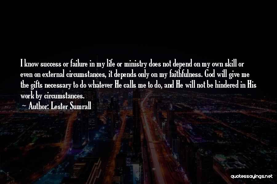 Giving Gifts Quotes By Lester Sumrall