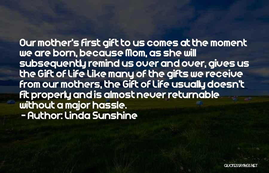 Giving Gifts Quotes By Linda Sunshine
