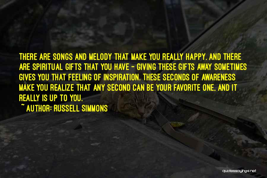 Giving Gifts Quotes By Russell Simmons