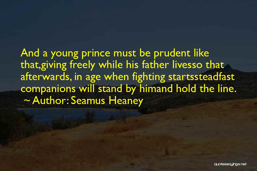 Giving Gifts Quotes By Seamus Heaney