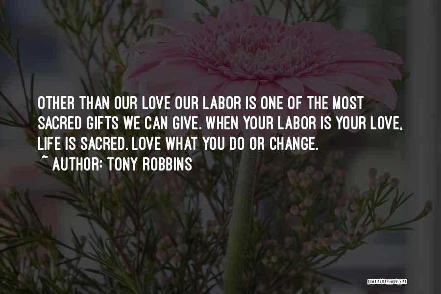 Giving Gifts Quotes By Tony Robbins