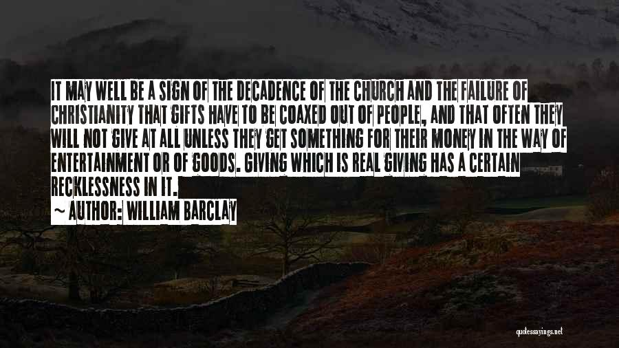 Giving Gifts Quotes By William Barclay