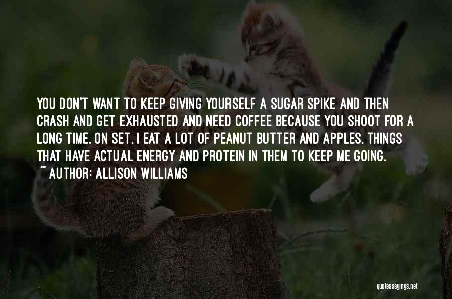 Giving In Time Of Need Quotes By Allison Williams