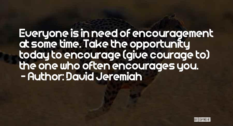 Giving In Time Of Need Quotes By David Jeremiah