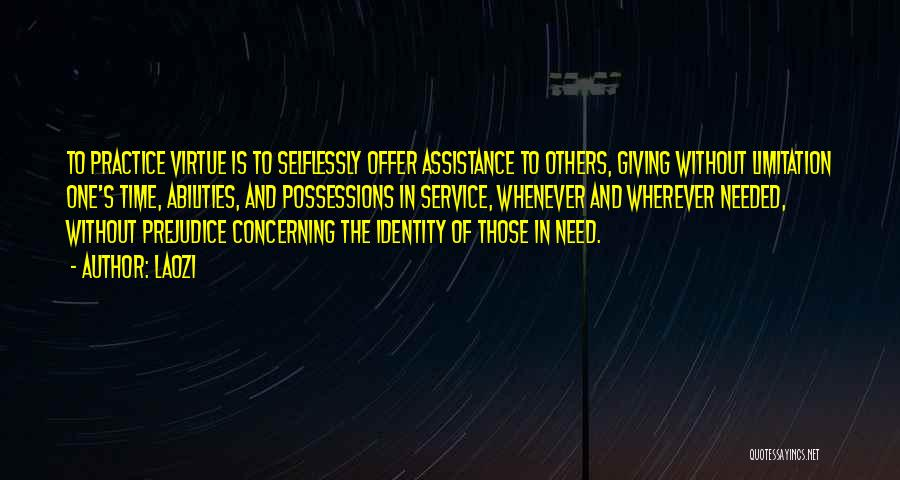 Giving In Time Of Need Quotes By Laozi