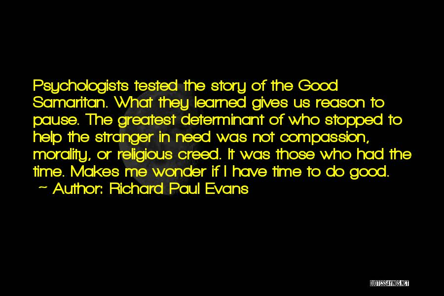 Giving In Time Of Need Quotes By Richard Paul Evans