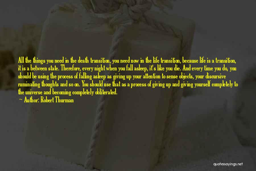 Giving In Time Of Need Quotes By Robert Thurman
