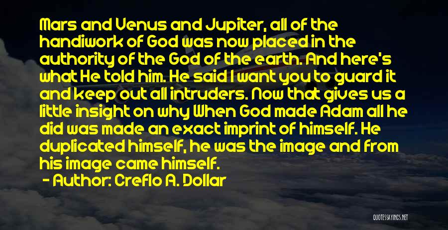Giving It All To God Quotes By Creflo A. Dollar
