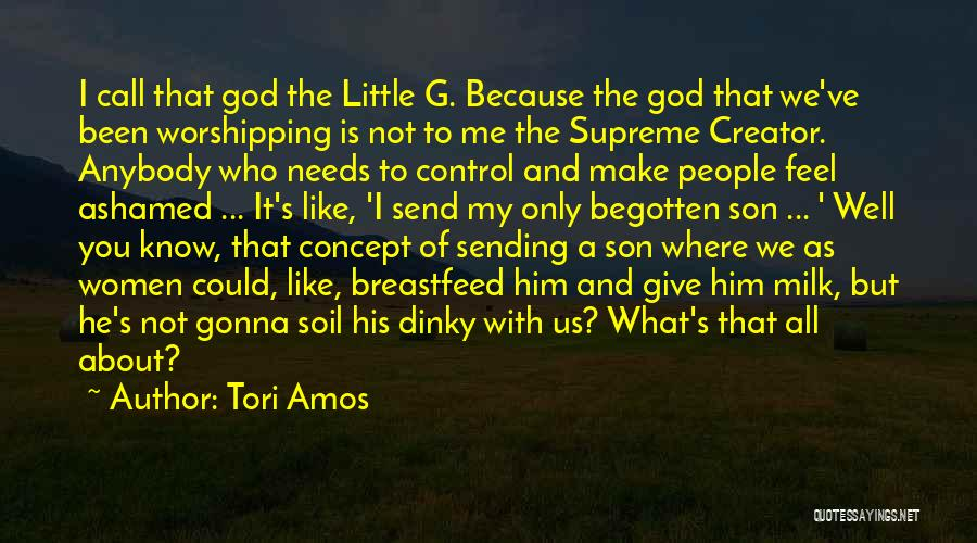 Giving It All To God Quotes By Tori Amos