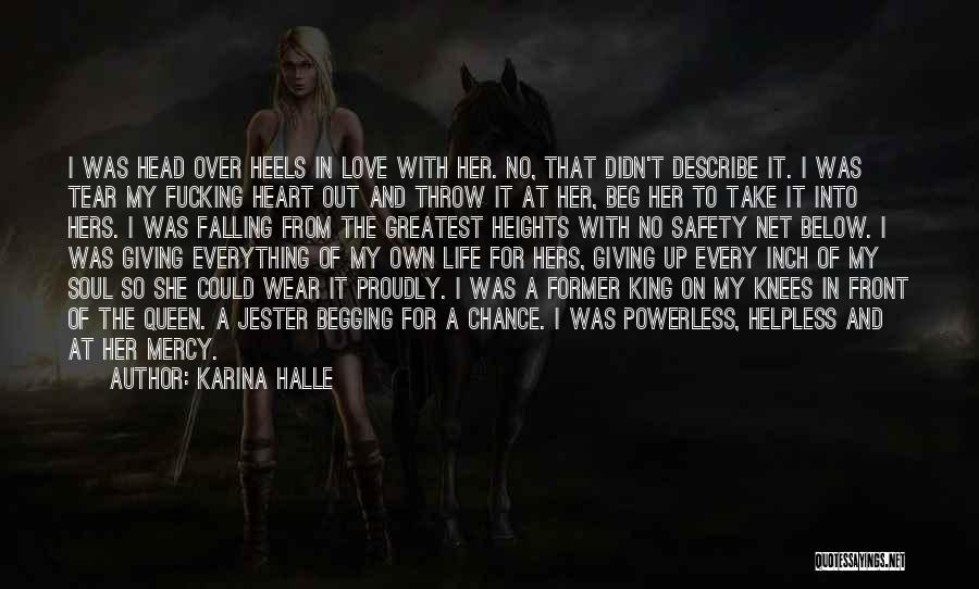 Giving Love A Chance Quotes By Karina Halle