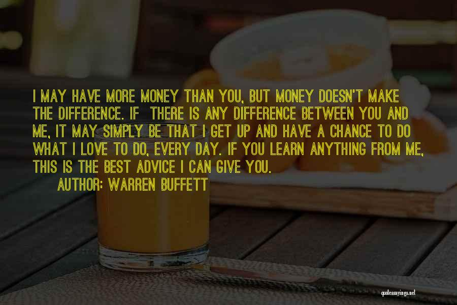 Giving Love A Chance Quotes By Warren Buffett