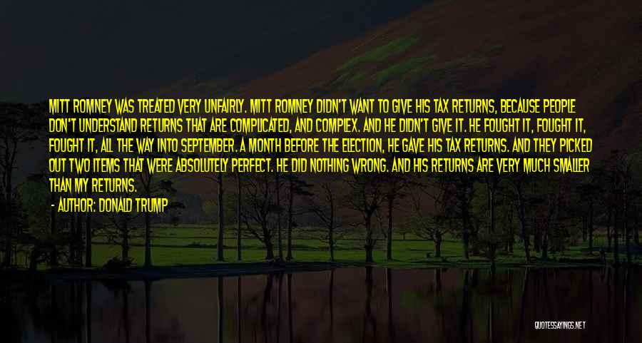 Giving My All Quotes By Donald Trump