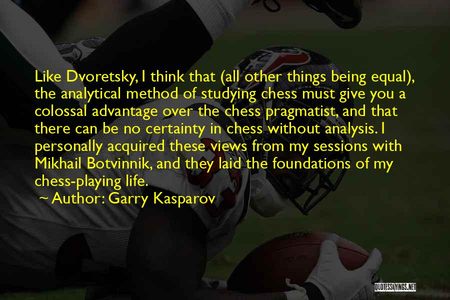 Giving My All Quotes By Garry Kasparov