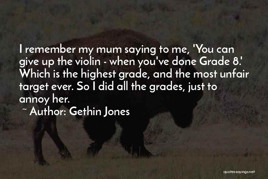 Giving My All Quotes By Gethin Jones