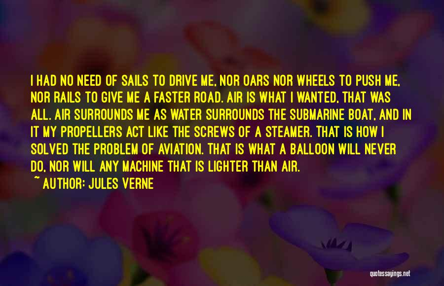 Giving My All Quotes By Jules Verne