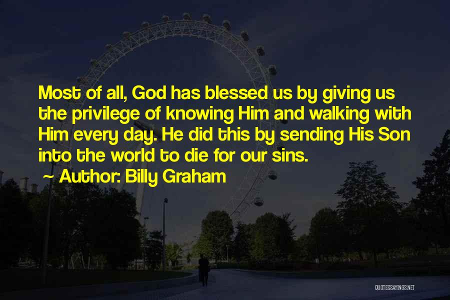 Giving To God Quotes By Billy Graham