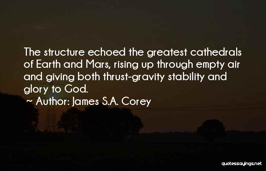 Giving To God Quotes By James S.A. Corey