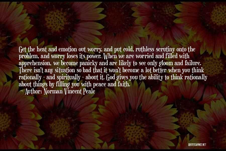Giving To God Quotes By Norman Vincent Peale