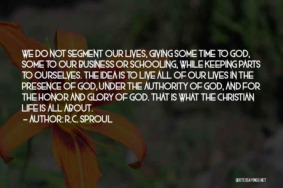 Giving To God Quotes By R.C. Sproul