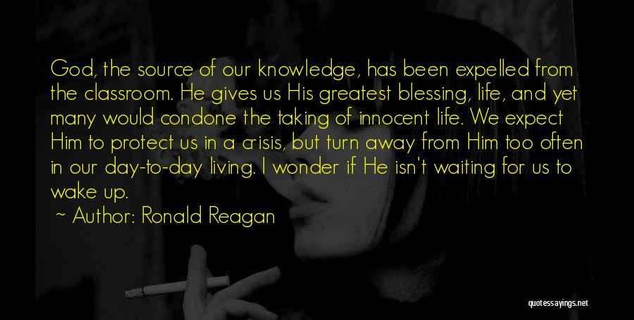 Giving To God Quotes By Ronald Reagan