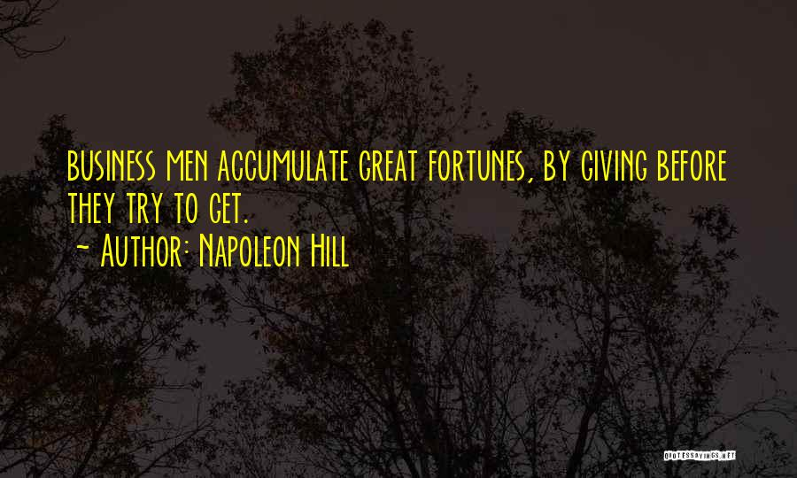 Giving Up Before You Try Quotes By Napoleon Hill