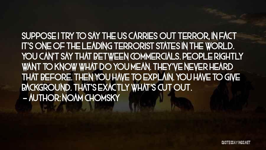 Giving Up Before You Try Quotes By Noam Chomsky