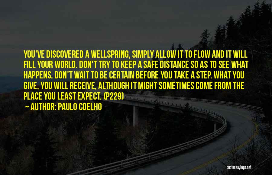 Giving Up Before You Try Quotes By Paulo Coelho